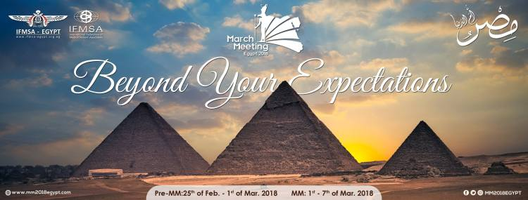 IFMSA MM2018 Egypt