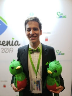 Daniel Sierra attending the MM2019 in Slovenia